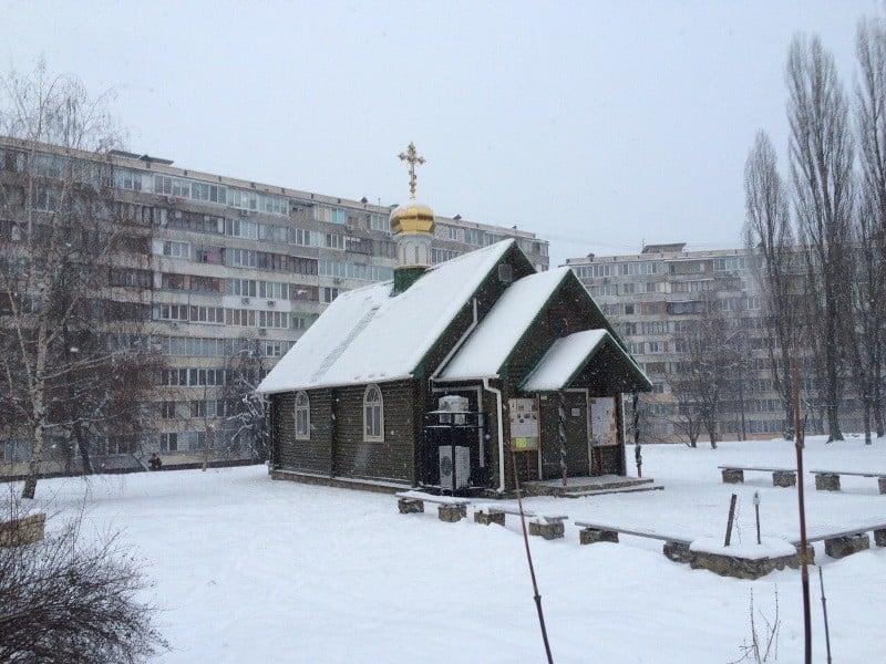 Здійснено чергову спробу підпалу храму свт.Петра Могили Північного київського вікаріатства
