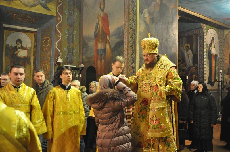 Єпископ Боярський Феодосій звершив всенічне бдіння напередодні Неділі 36-ї після П'ятидесятниці
