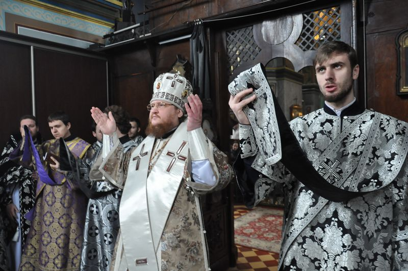 Відбулися соборна Літургія та спільне говіння духовенства Подолу