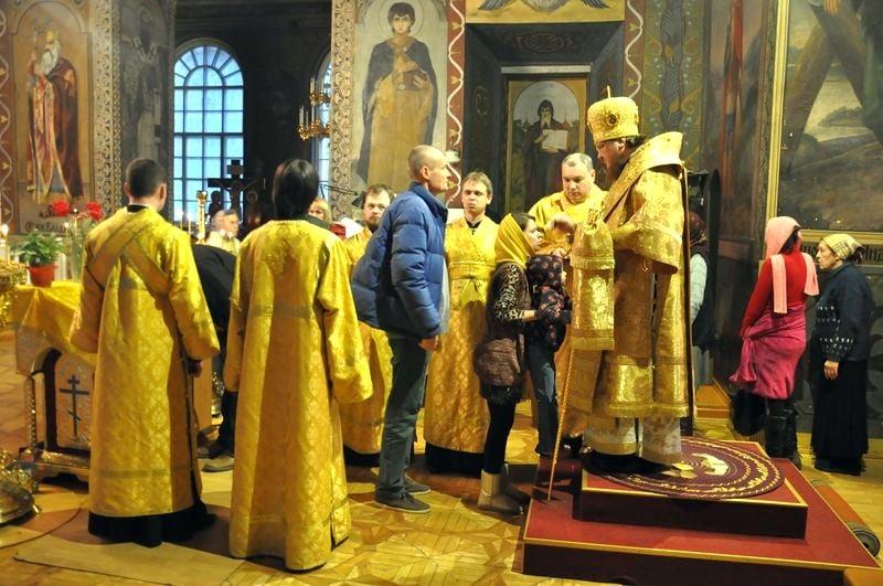 Єпископ Боярський Феодосій звершив всенічне бдіння напередодні Неділі сиропустної