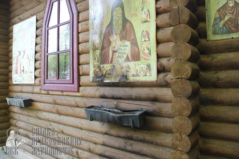 Вандалы совершили поджег храма прп.Агапита Печерского Северного киевского викариатства
