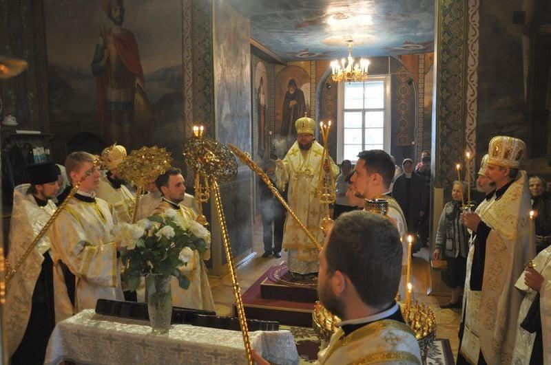 Єпископ Боярський Феодосій звершив всенічне бдіння напередодні Неділі 7-ї після Пасхи
