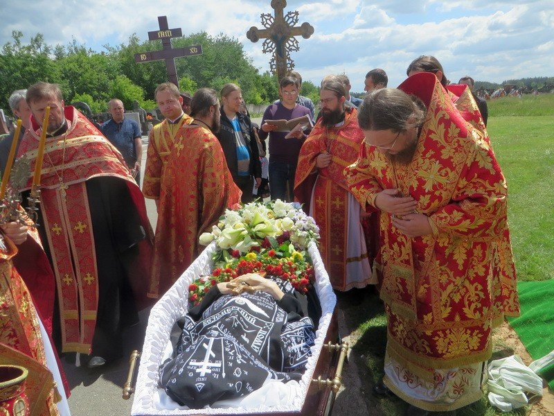 Єпископ Боярський Феодосій звершив відспівування схимонахині Віри (Чмихової)