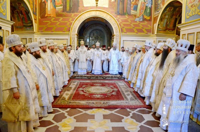 Єпископ Боярський Феодосій взяв участь у заупокійних богослужіннях по спочилому Предстоятелю УПЦ