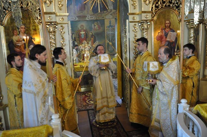 Єпископ Боярський Феодосій звершив Літургію в Неділю 2-у після П'ятидесятниці