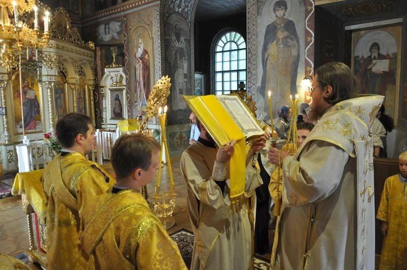 Єпископ Боярський Феодосій звершив всенічне бдіння напередодні Неділі 5-ї після П'ятидесятниці
