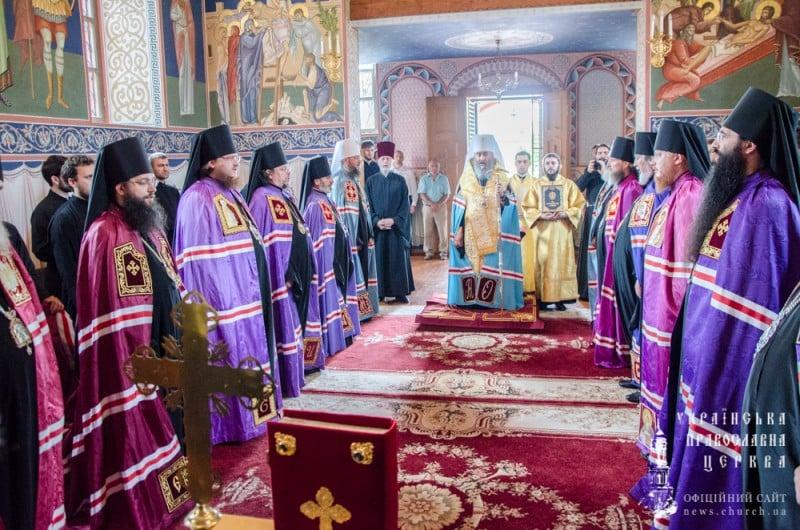 Єпископ Боярський Феодосій взяв учать у чині наречення архімандрита Кассіана (Шостака) в єпископа Іванківського, вікарія Київської Митрополії