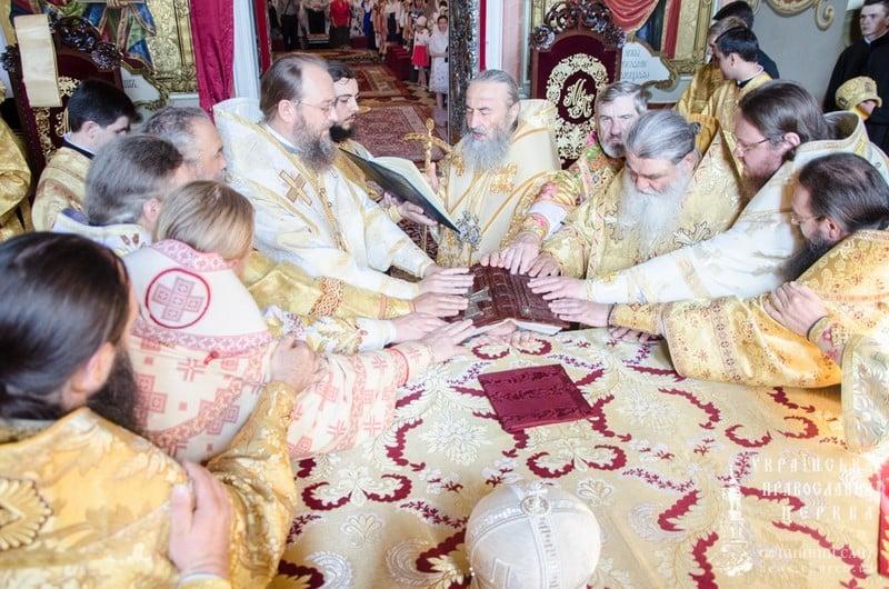 Керуючий Північним київським вікаріатством єпископ Боярський Феодосій взяв участь у єпископській хіротонії архімандрита Кассіана (Шостака)