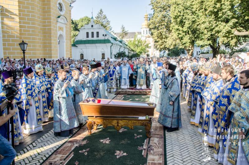 Керуючий Північним київським вікаріатством єпископ Боярський Феодосій взяв участь у прославленні двох святих