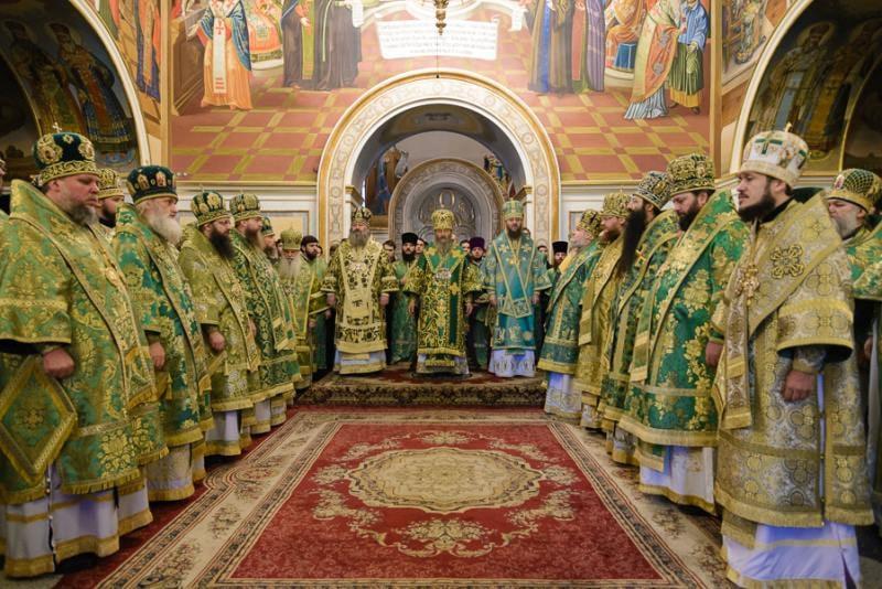 Єпископ Боярський Феодосій співслужив Предстоятелю в урочистостях з нагоди дня пам'яті прп.Нестора Літописця