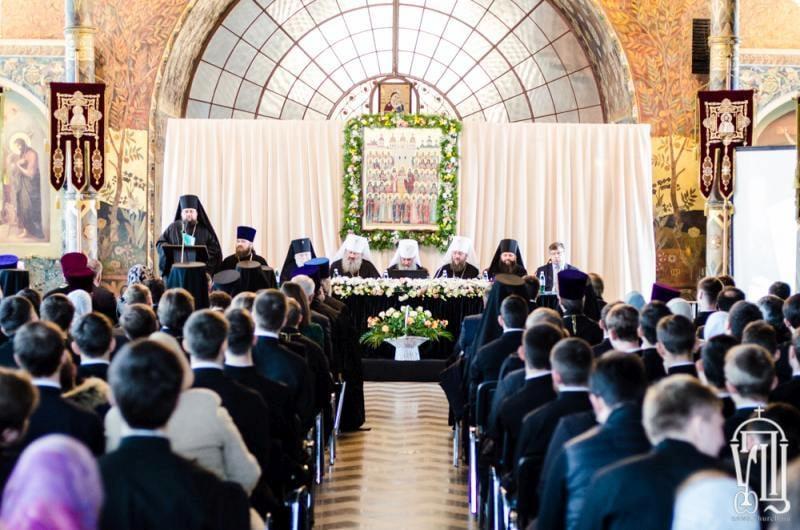 Єпископ Боярський Феодосій взяв участь в річному акті Київської духовної академії