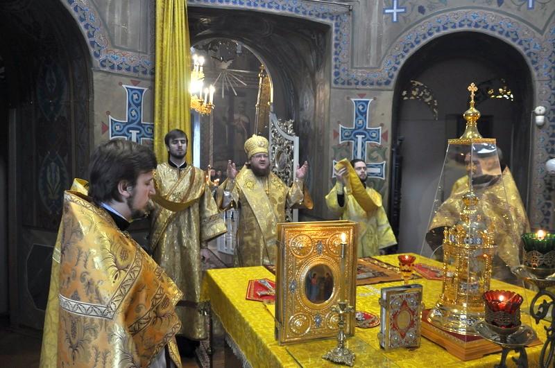 Єпископ Боярський Феодосій звершив Літургію в Неділю 22-у після П'ятидесятниці