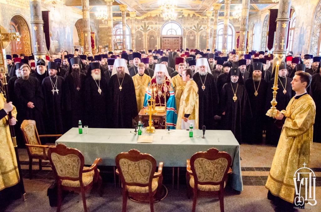 Єпископ Боярський Феодосій взяв участь у щорічних єпархіальних зборах Київської єпархії (+ВІДЕО)