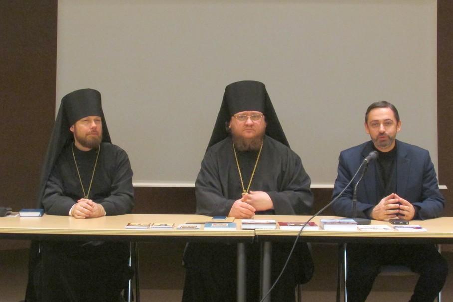Епископ Боярский Феодосий в Страсбурге открыл духовно-просветительский вечер посвященный традициям Святой Горы Афон