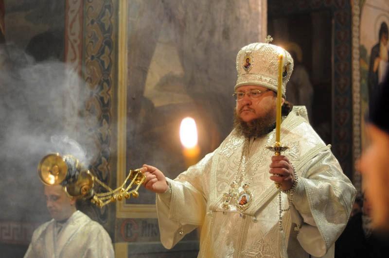 Єпископ Боярський Феодосій звершив всенічне бдіння напередодні свята Різдва Христового