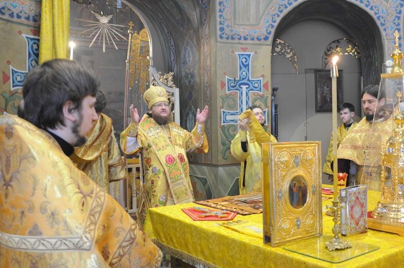 Єпископ Боярський Феодосій звершив Літургію в Неділю 32-у після П'ятидесятниці