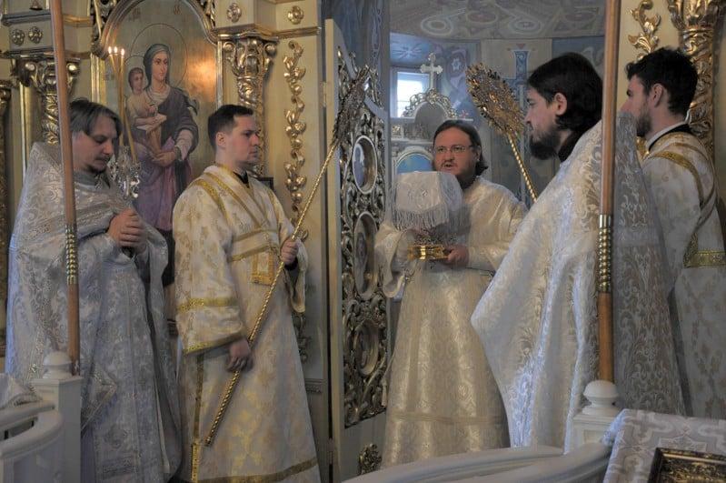 Єпископ Боярський Феодосій звершив Літургію в Неділю 31-у після П'ятидесятниці
