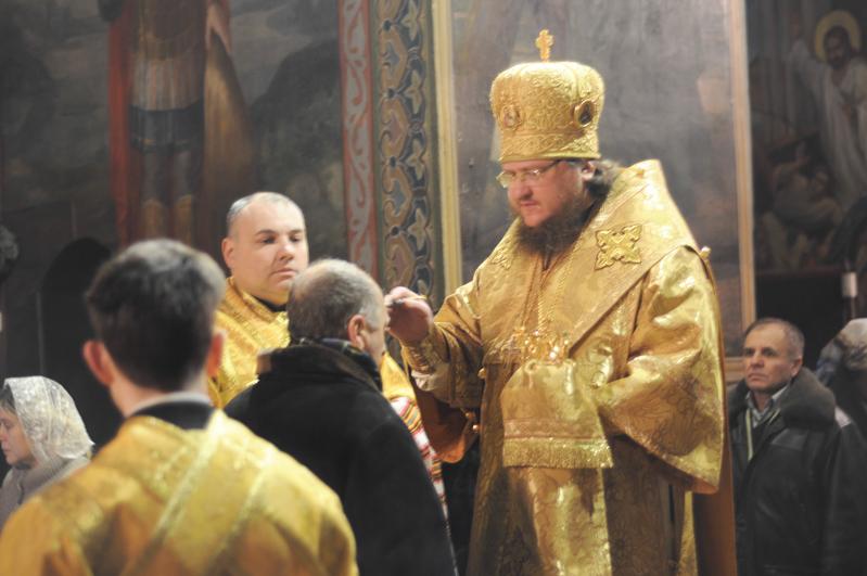 Єпископ Боярський Феодосій звершив всенічне бдіння напередодні Неділі про блудного сина