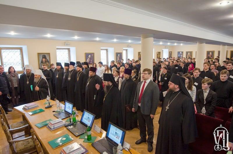 Єпископ Боярський Феодосій взяв участь у щорічній конференції «Студентська наука в духовній школі»