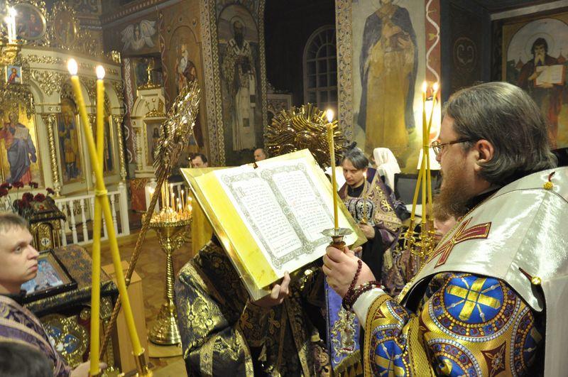 Єпископ Боярський Феодосій звершив всенічне бдіння напередодні Неділі 1-ї Великого посту