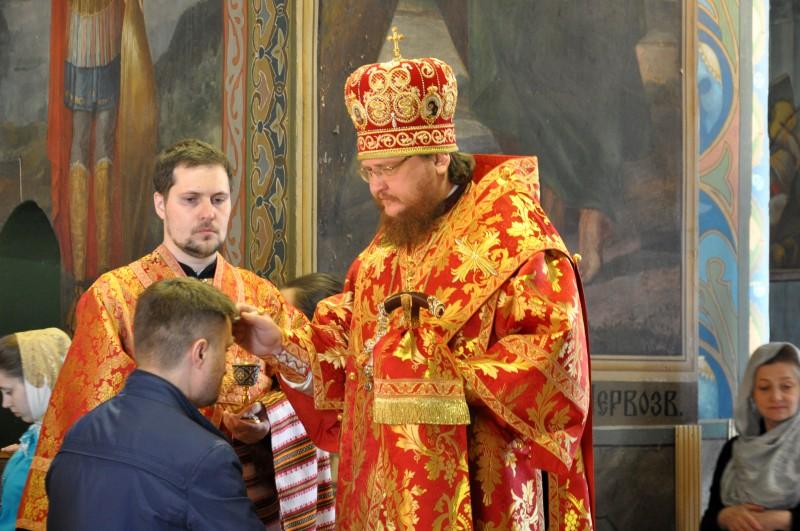 Епископ Боярский Феодосий совершил всенощное бдение накануне Недели 6-й по Пасхе