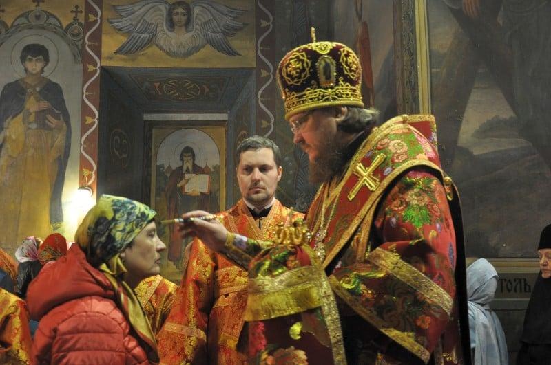 Єпископ Боярський Феодосій звершив всенічне бдіння напередодні Неділі 5-ї після Пасхи