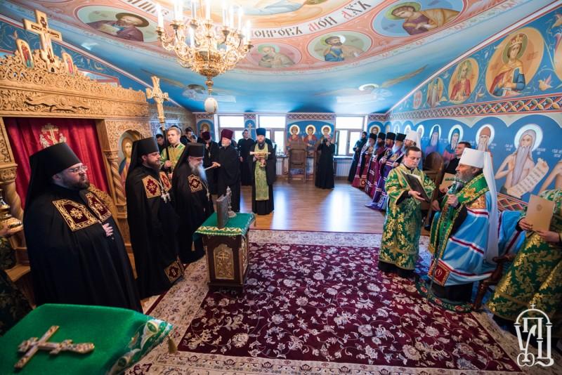 Єпископ Боярський Феодосій взяв учать у чині наречення архімандрита Віктора (Коцаби) в єпископа Баришівського, вікарія Київської Митрополії (+ВІДЕО)