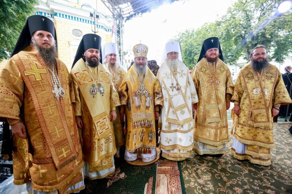 На урочистостях з нагоди Дня Хрещення Русі єпископ Боярський Феодосій був возведений в сан архієпископа (+ВІДЕО)