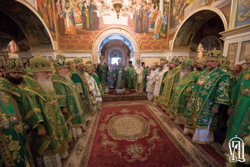 Напередодні Дня пам'яті прп.Антонія Печерського єпископ Феодосій співслужив на всенічному бдінні Предстоятелю УПЦ