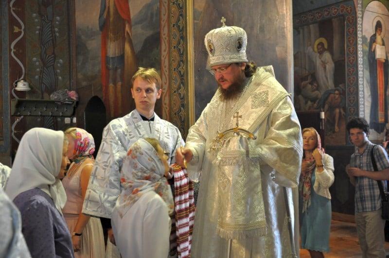 Архієпископ Боярський Феодосій звершив всенічне бдіння напередодні свята Преображення Господнього