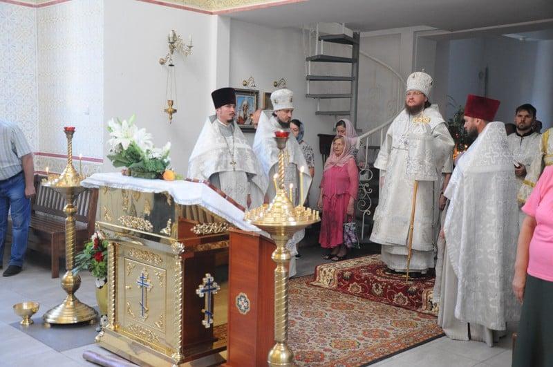 Архієпископ Боярський Феодосій звершив всенічне бдіння напередодні Неділі 11-ої після П'ятидесятниці