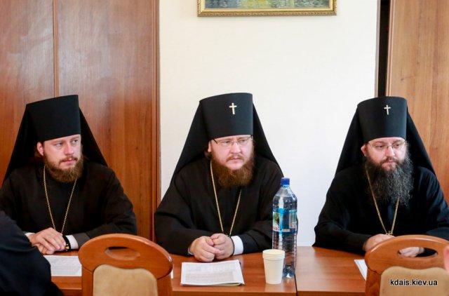 Архієпископ Боярський Феодосій взяв участь в засіданні Вченої Ради КДА