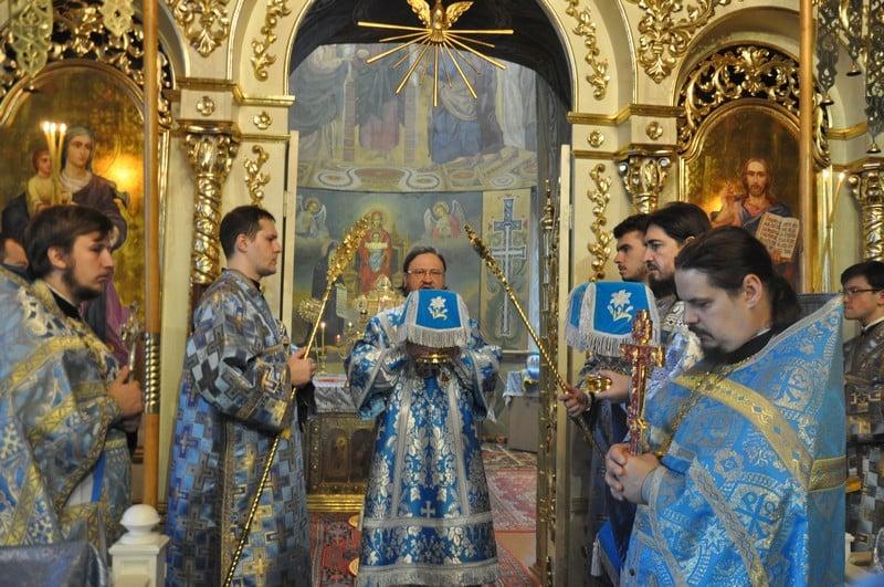 Архієпископ Боярський Феодосій звершив Літургію у Неділю 16-ту після П'ятидесятниці