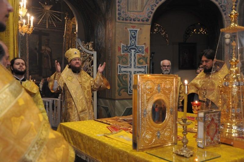 Архієпископ Боярський Феодосій звершив Літургію у Неділю 17-ту після П'ятидесятниці