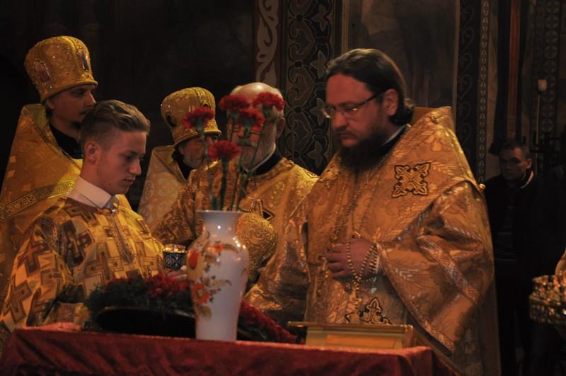 Архієпископ Боярський Феодосій звершив всенічне бдіння напередодні Неділі 17-ої після П'ятидесятниці