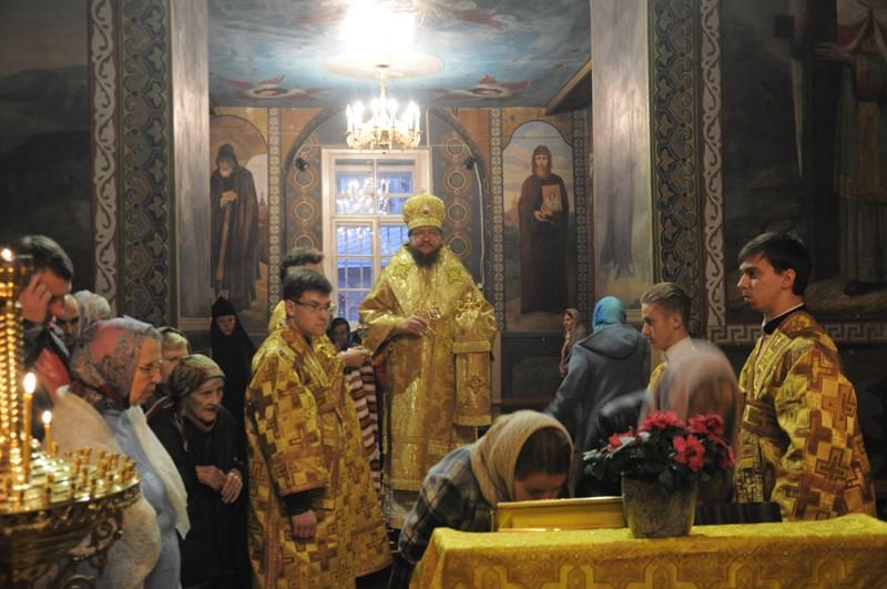 Архієпископ Боярський Феодосій звершив всенічне бдіння напередодні Неділі 18-ої після П'ятидесятниці