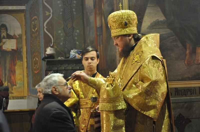 Архиепископ Боярский Феодосий совершил всенощное бдение накануне Недели 21-й по Пятидесятнице