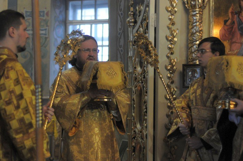 Архієпископ Боярський Феодосій звершив Літургію у Неділю 20-ту після П'ятидесятниці