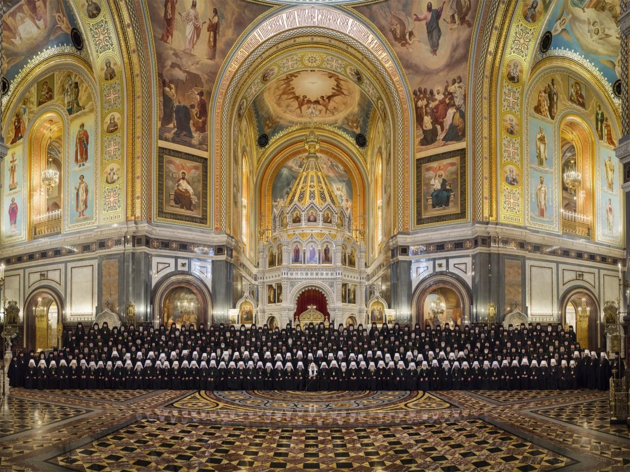 Архієпископ Боярський Феодосій взяв участь у роботі Архієрейського Собору РПЦ (оновлено, фото, відео)