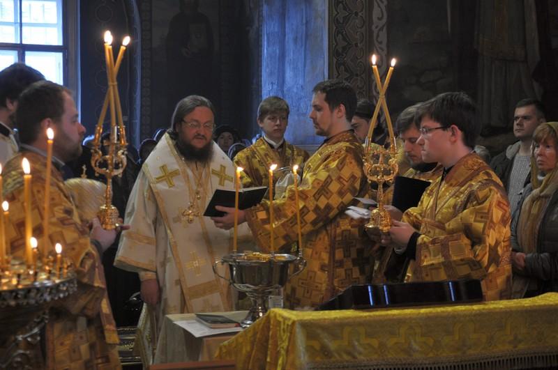Архієпископ Боярський Феодосій звершив Літургію у Неділю 30-ту після П'ятидесятниці