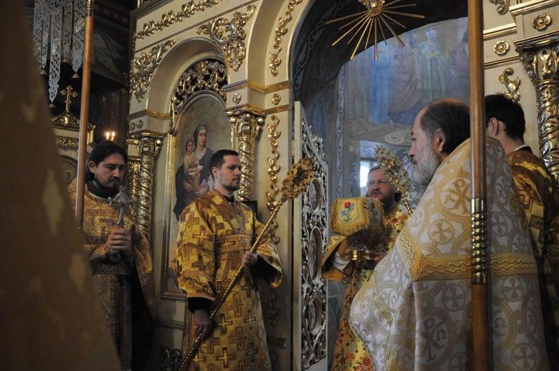 Архієпископ Боярський Феодосій звершив Літургію у Неділю 26-ту після П'ятидесятниці