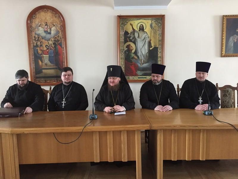 Відбулося зібрання настоятелів храмів Північного київського вікаріатства