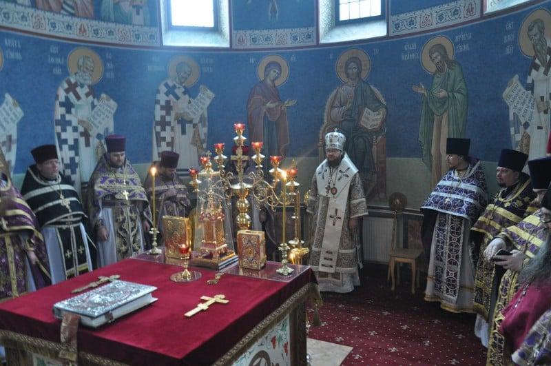 Відбулися соборна Літургія та спільне говіння духовенства  Кладовищенського благочиння