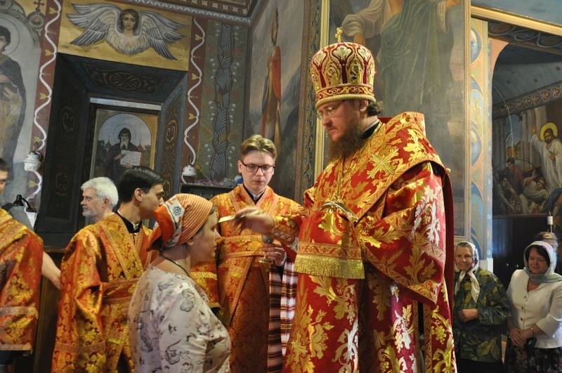 Архієпископ Боярський Феодосій звершив всенічне бдіння напередодні Неділі 5-ї після Пасхи