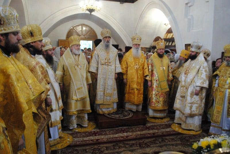 Архиепископ Феодосий принял участие в торжествах Нежинской епархии