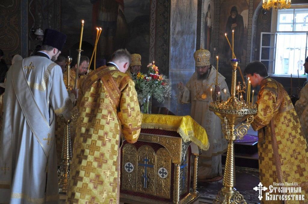Архієпископ Боярський Феодосій звершив всенічне бдіння напередодні Неділі 1-ї після П'ятидесятниці