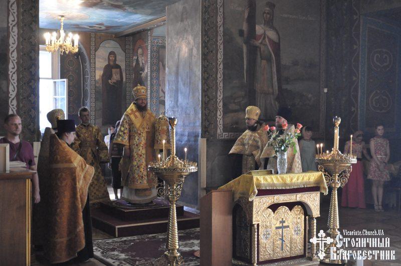 Архієпископ Боярський Феодосій звершив всенічне бдіння напередодні Неділі 2-ї після П'ятидесятниці
