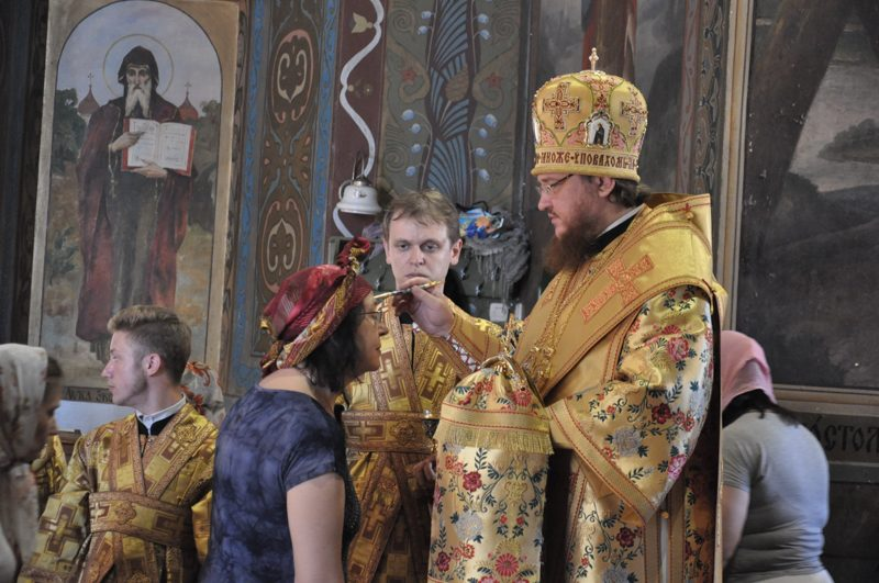 Архієпископ Боярський Феодосій звершив всенічне бдіння напередодні Неділі 3-ї після П'ятидесятниці