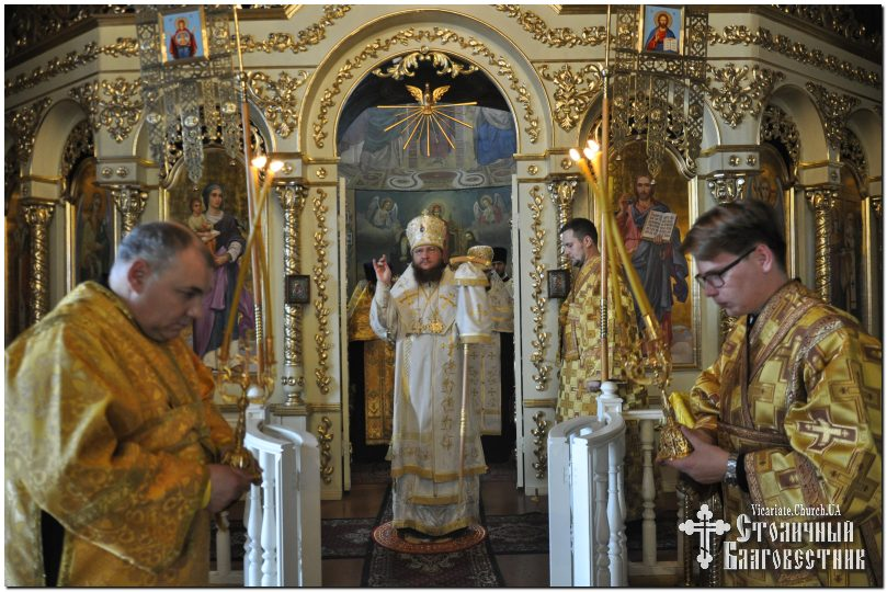 Архієпископ Боярський Феодосій звершив всенічне бдіння напередодні Неділі 8-ї після П'ятидесятниці