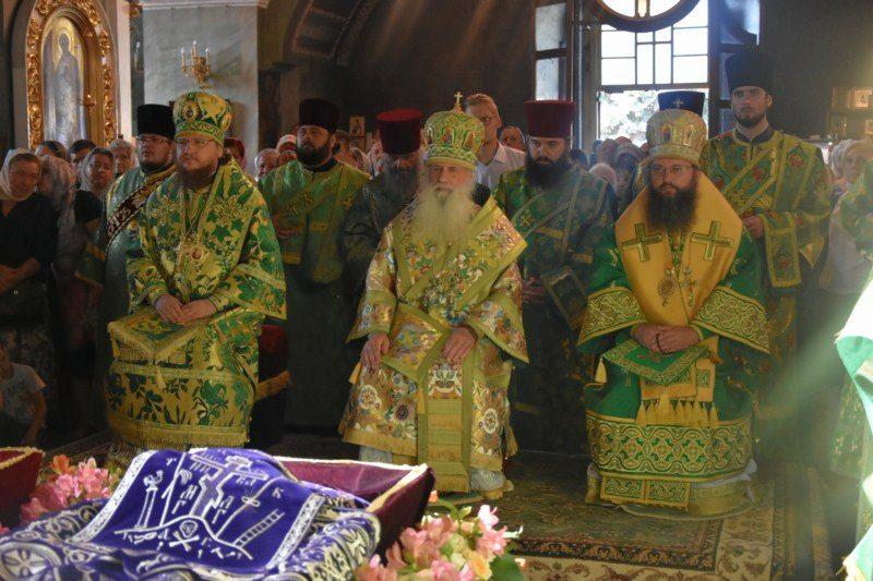 Архієпископ Феодосій взяв участь в урочистостях Чернігівської єпархії
